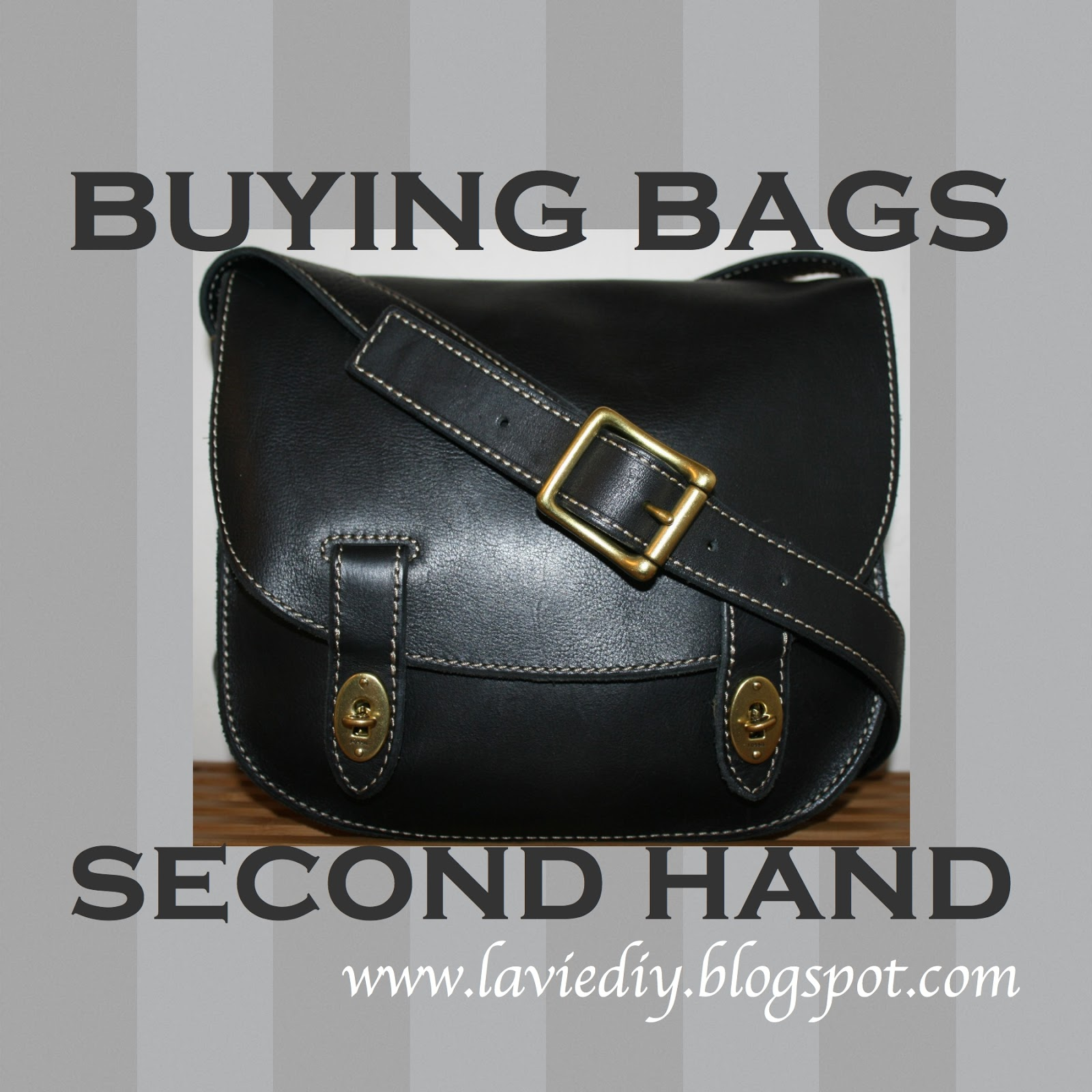 Ing And Restoring Second Hand Bags