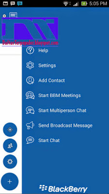 Download BBM Mod Simple Blue v4