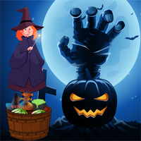 ZooZooGames Halloween Trick Or Treat Escape