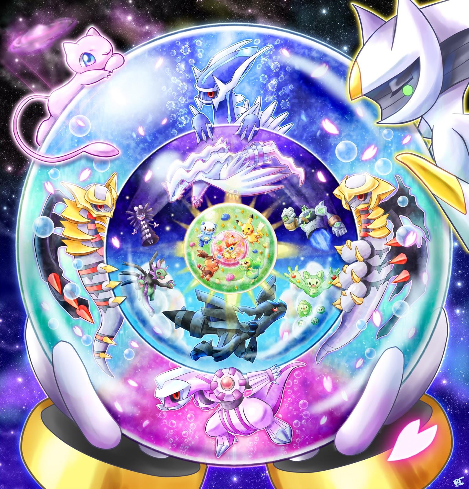 O multiverso do mundo pok mon nintendo blast - Photo de pokemon legendaire ...