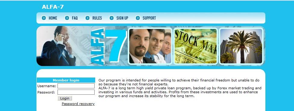Мошеннический сайт alfa-7.com – Отзывы, развод, платит или лохотрон? Мошенники