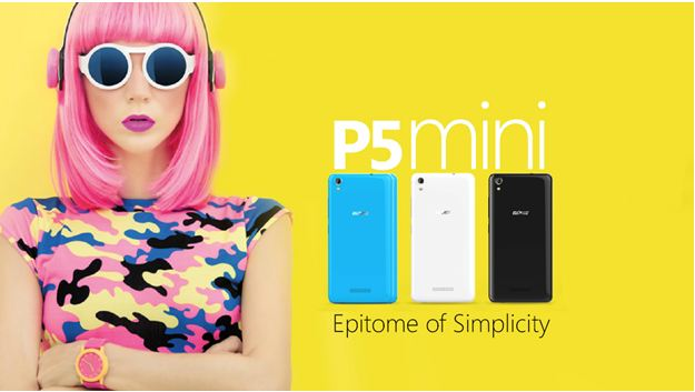 All Of Style And Colours : Introducing Gionee P5 Mini