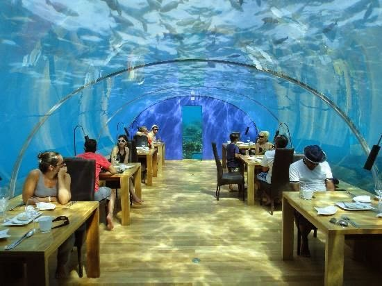 The world's first ever undersea restaurant