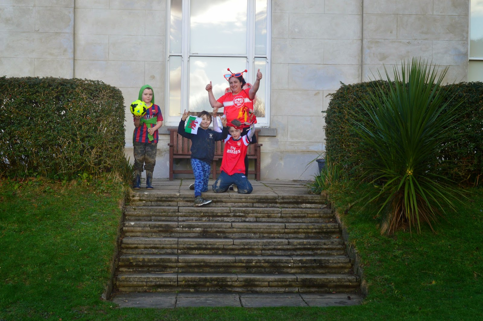 , Team Honk Relay at Scolton Manor meets Country Kids