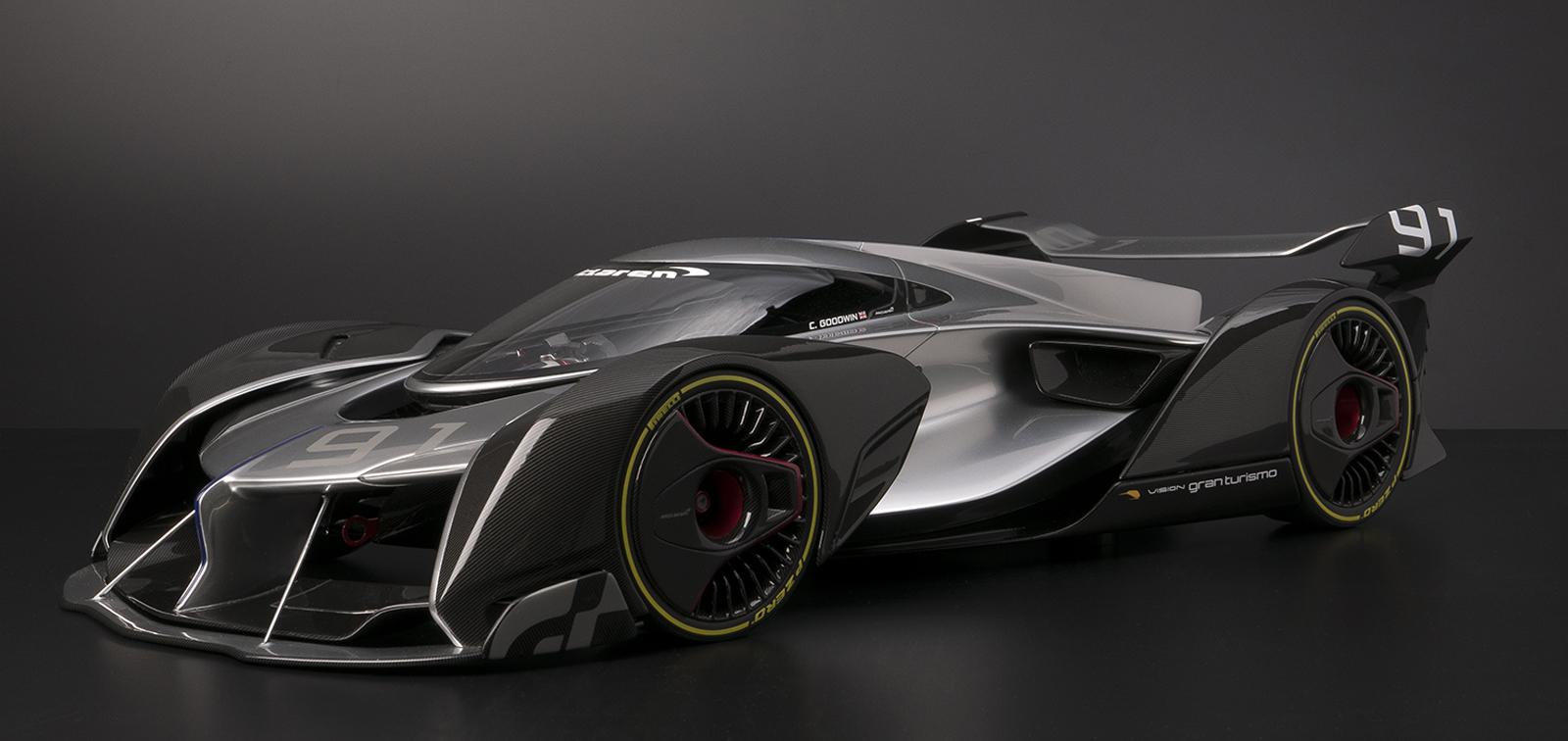 McLaren Ultimate Vision Gran Turismo Comes To Life In 1:8 ...