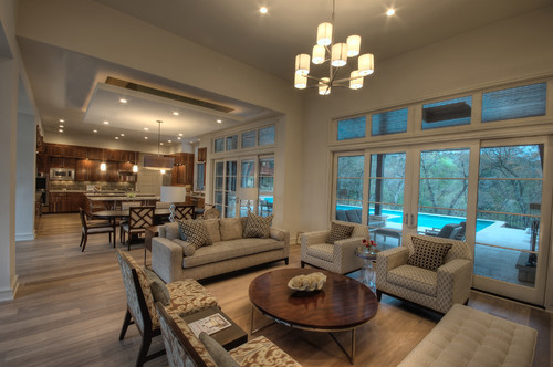 open concept kitchen living room designs %283%29