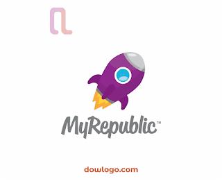 Logo MyRepublic Vector Format CDR, PNG
