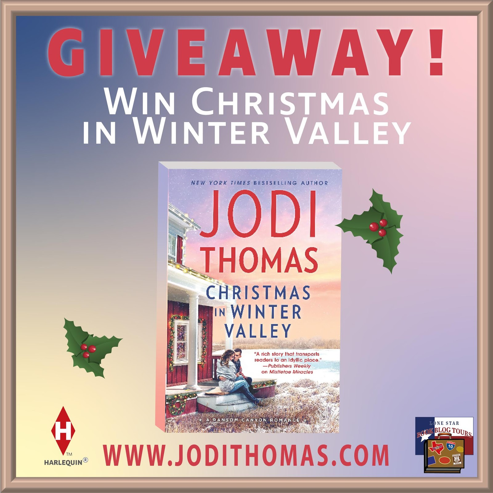 The Christmas in Winter Valley tour giveaway graphic