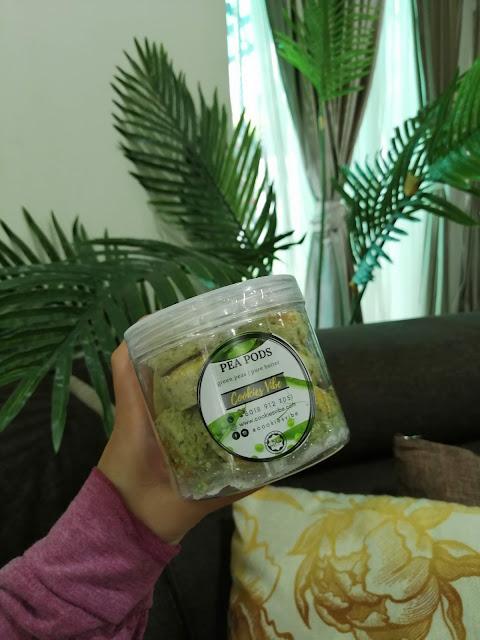 biskut kacang hijau