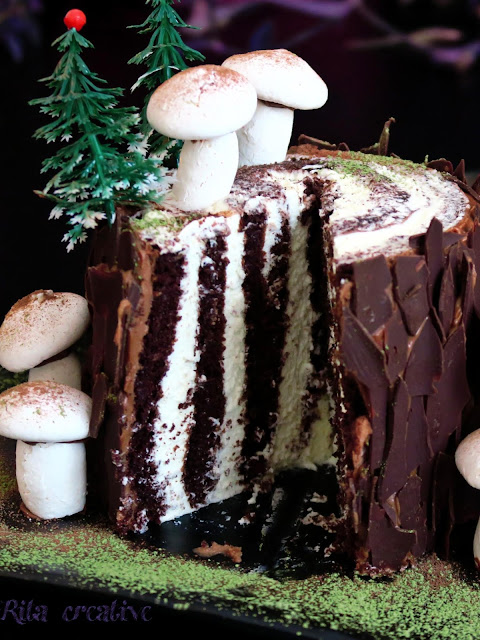 Świąteczny Tort Pień RITA creative