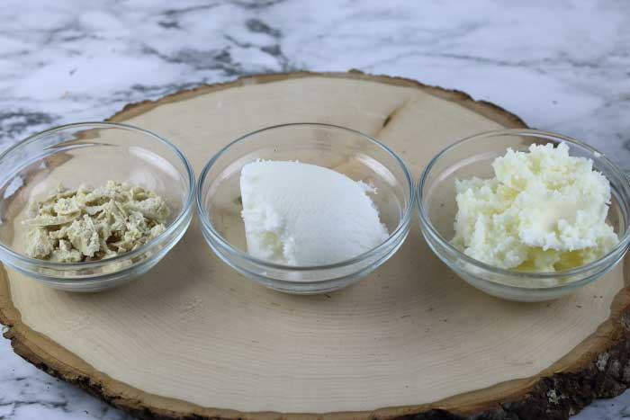 What are hair butters and skin butters and their benefits?  How to choose the best body butter for your diy skincare.  Learn about the different hair butters and skin butters.  Make the best natural products with these natural butters for diy natural beauty.  If you are making natural beauty recipes, choose the right butters for diy beauty projects.  #butters #skin #hair #naturalbeauty #sheabutter #cocoabutter #mangobutter #diybeauty