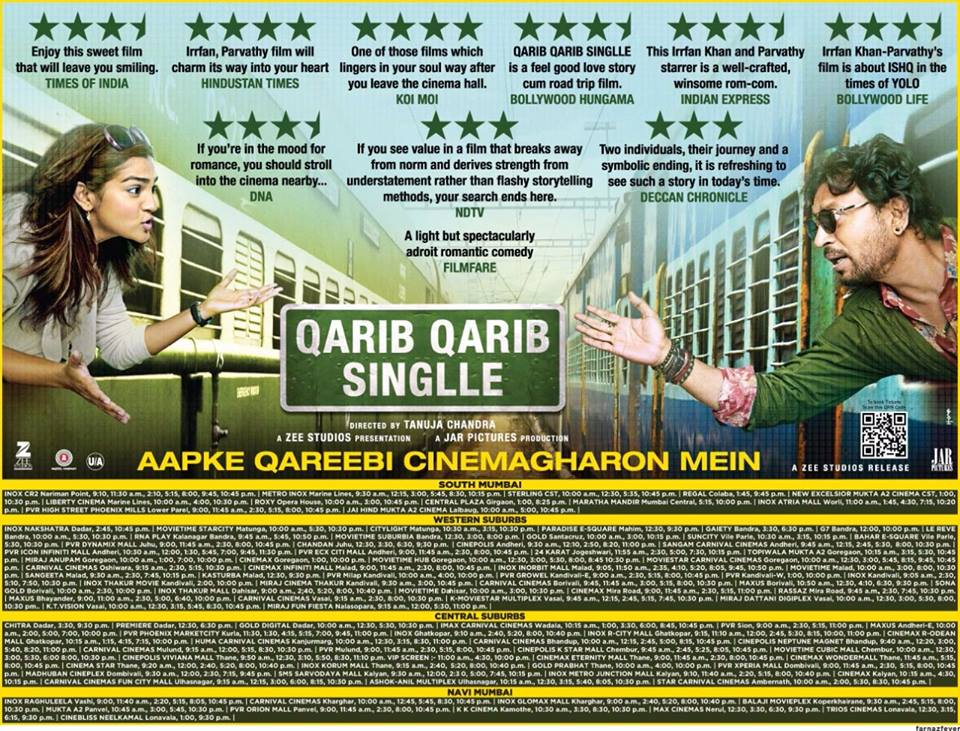 Qarib Qarib Singlle Movie Free Download In Hindi HD - Higgs