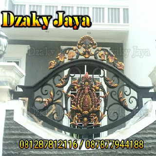 Contoh Pagar Besi, Pagar Tempa Klasik Jakarta.