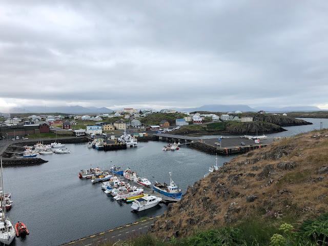 Stykkishólmur in West Iceland