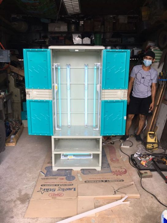 UP engineers design UV cabinet for disinfecting hospital gowns