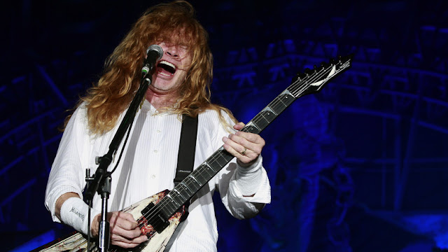 Diagnostican con cáncer de garganta a Dave Mustaine, fundador y vocalista de la banda estadounidense Megadeth