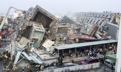 Bencana alam Gempa Bumi - berbagaireviews.com