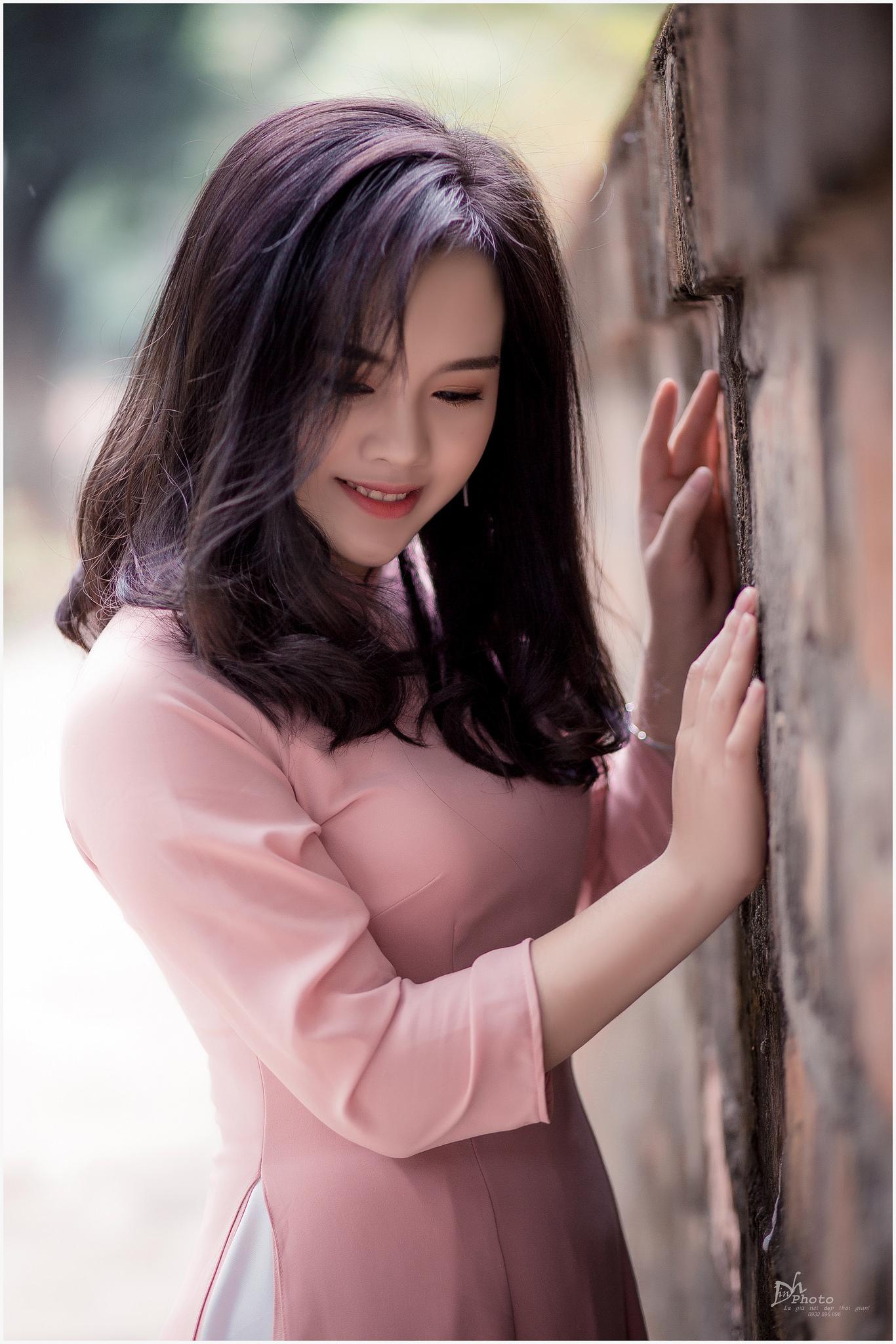 Tuyển tập girl xinh gái đẹp Việt Nam mặc áo dài đẹp mê hồn #60 - 10