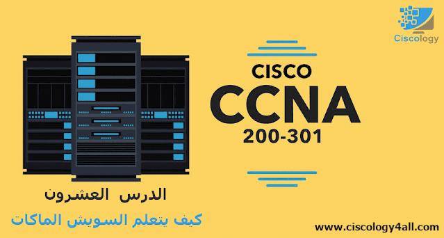 دورة CCNA 200-301 - الدرس العشرون (كيف يتعلم السويش الماكات)