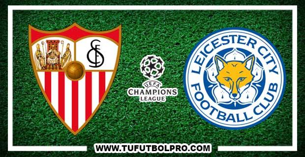 Ver Sevilla vs Leicester City EN VIVO Por Internet Hoy 22 de Febrero 2017