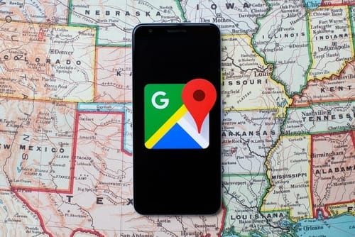 Google Maps highlights the changes in your city