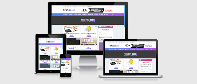 Off Sale Theme TienDucBlog Responsive for Blogger