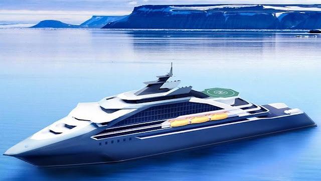 Perusahaan Perkapalan Rusia Tawarkan Wisata Ke Artik Menggunakan Kapal Persiar
