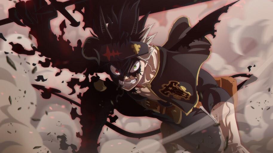 Black Asta, Black Clover, Anime, 4K, #6.864