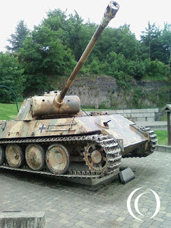 The Panther (Panzer V) in Houffalize, Belgium