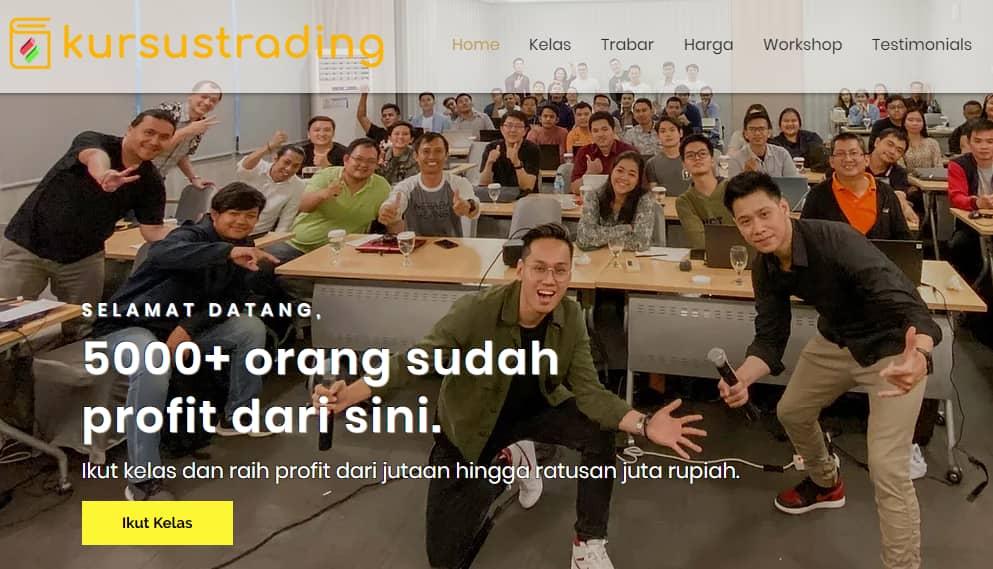 Tempat Belajar Trading Online Bersama Kursustrading.com
