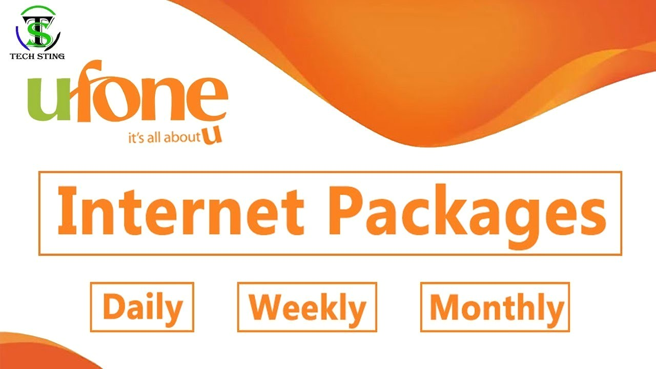 Ufone Internet Packages 2020