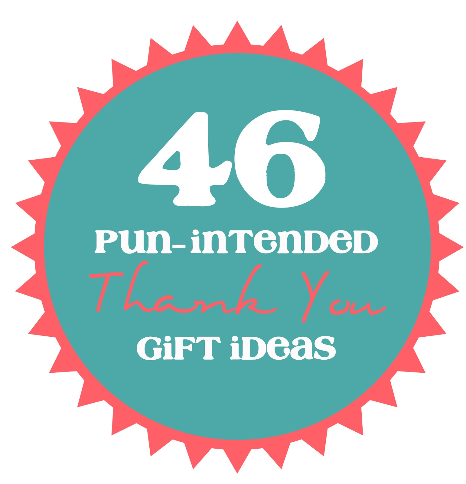 46 Pun-Intended Thank You Gift Ideas - thecraftpatchblog com
