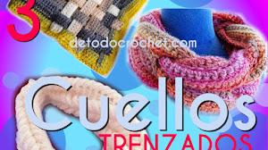 Los Mejores Cuellos Trenzados A Crochet para Tejer y Disfrutar