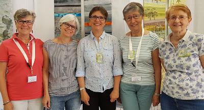 ART-TEX group - Exhibition at Aigu'illes en Luberon festival 2019