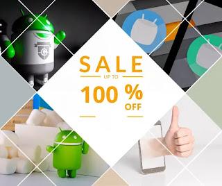 Offres actuelles sur le Google Play Store Android:  09 applications sont désormais gratuites