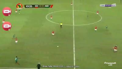 مصر والمغرب - كاس امم افريقيا 2017 مباشرة