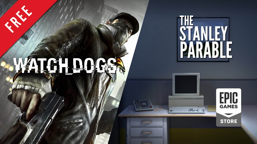 watch dogs the stanley parable free pc game epic games store action-adventure game ubisoft interactive drama walking simulator galactic cafe