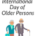 01 October - International Day for Older Persons