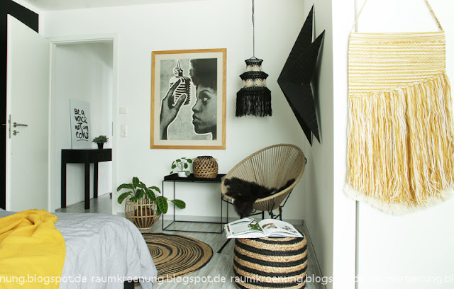 raumkr nung how to create scandi meets boho im schlafzimmer. Black Bedroom Furniture Sets. Home Design Ideas