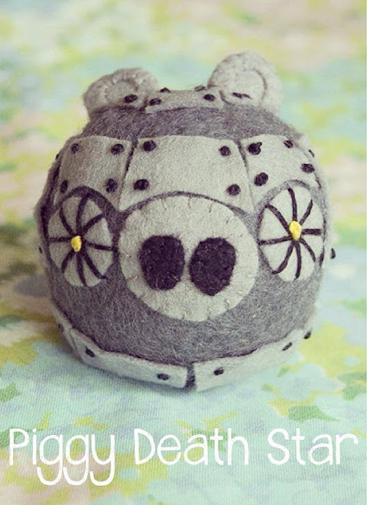 British Cream Tea Blog: Piggy Death Stars available now!!
