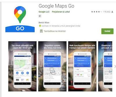 penghemat kuota google maps