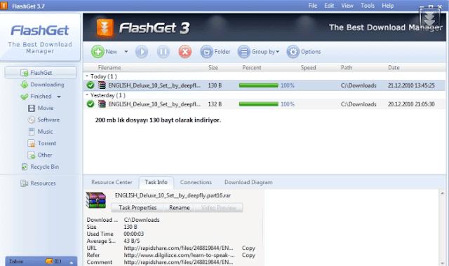 برنامج تحميل الملفات بسرعة عالية