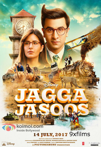 Jagga Jasoos 2017 DVDScr 480p Hindi 400MB