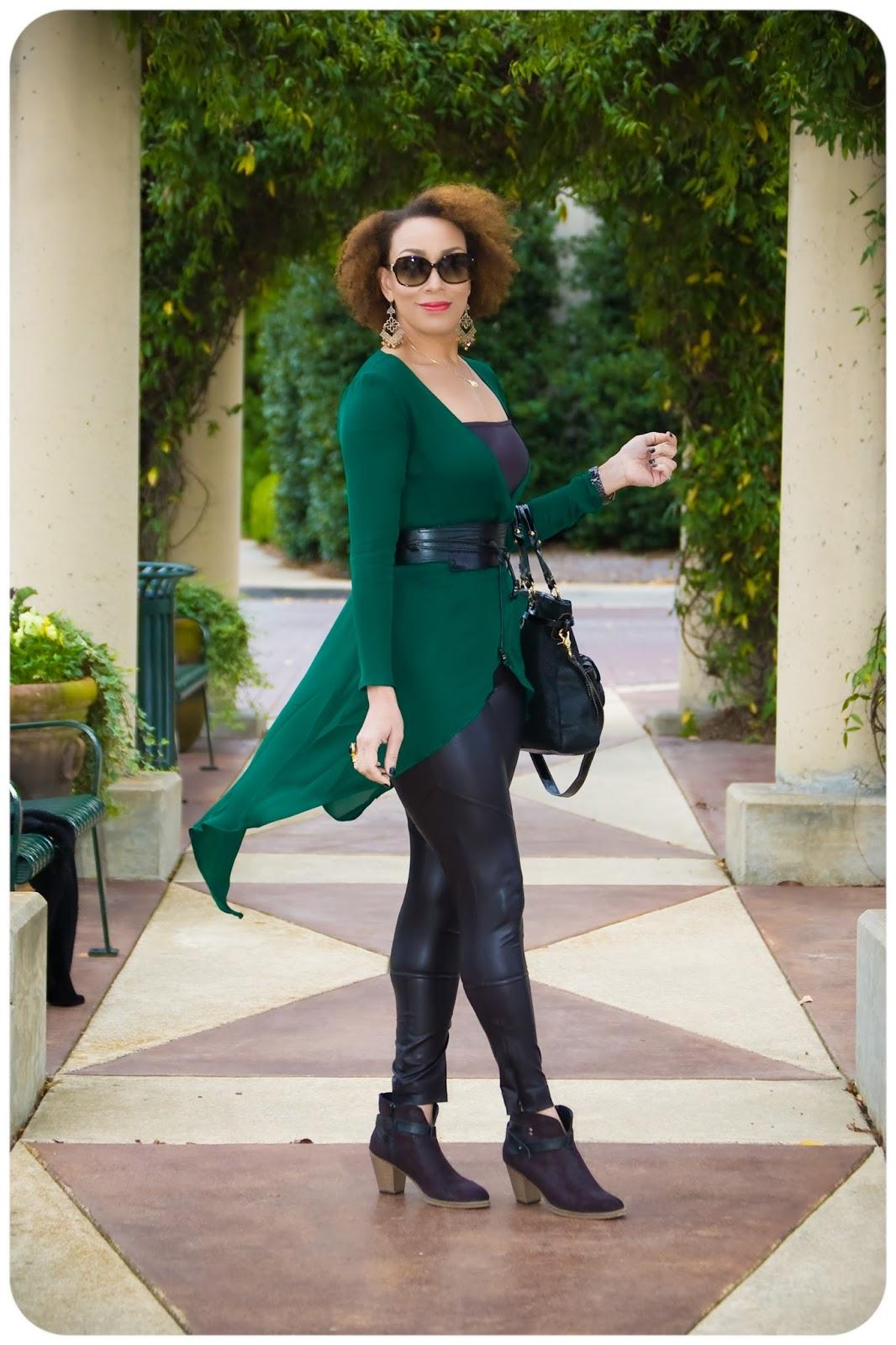 4 Ways To Be More Stylish & Fashionable - Leggings - Erica Bunker DIY Style