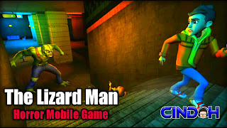 The lizard man horror mobile game