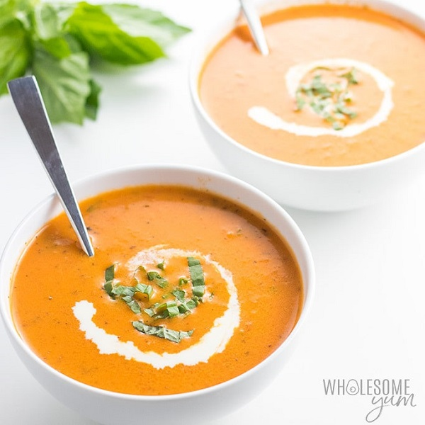 5-Ingredient Roasted Tomato Soup Recipe