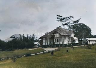 rumah misionaris dan guru di kabanjahe