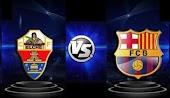 نتيجة مباراة برشلونة وألتشي  اليوم كورة لايف بلس 24-01-2021 في الدوري الاسباني