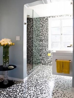 Mosaik-Badezimmer-Fliesen
