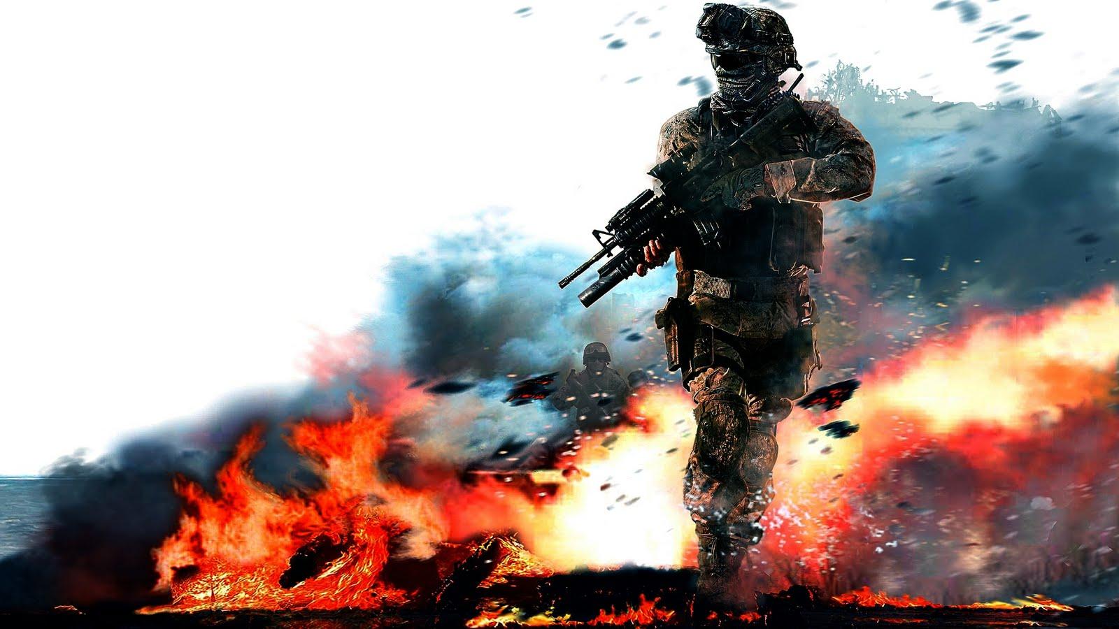 Call Of Duty Wallpaper Hd: HD WALLPAPERS: Call Of Duty Modren Warfare 2 Hd Wallpapers